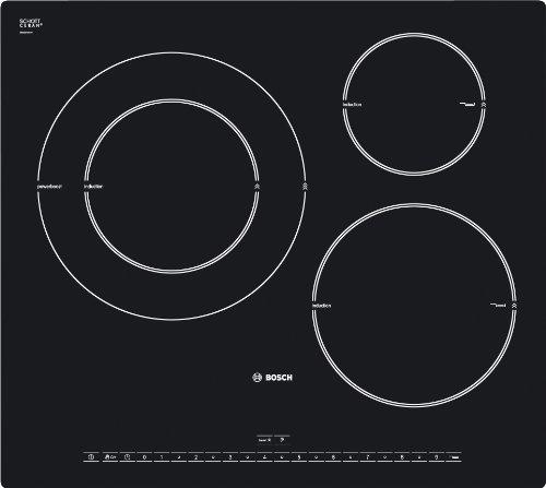 Bosch PIK601N24E VITROCERAMICA INDUCCION 3 ZONAS, Negro ...