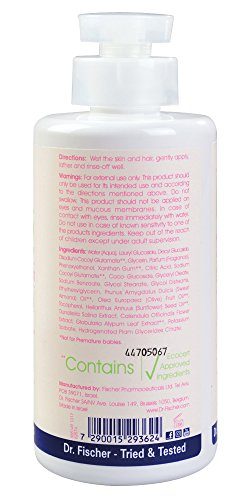 Pure Baby Head-to-toe Wash by Dr. Fischer with 100% Organic Oils & 97% Natural Origin Ingredients for Sensitive Skin Care of Newborns Toddlers and Adults (13.5 Oz) by Dr. Fischer (Image #2)