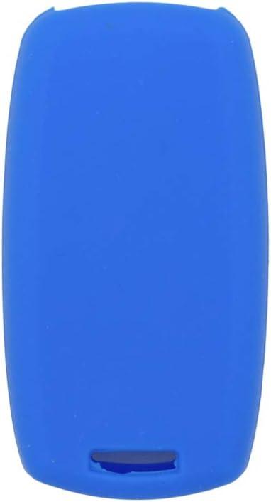 SEGADEN Silicone Cover Protector Case Skin Jacket fit for SUZUKI 2 Button Smart Remote Key Fob CV4544 Light Green