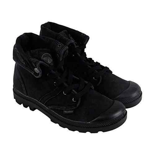 Palladium Mens Pallabrouse Baggy Black Metal Shoes Size 8