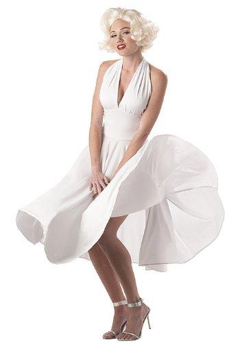 MARILYN SEXY WOMEN SM 6-8 (Marilyn Sexy Women Costume)