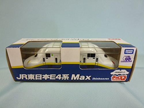 チョロQ JR東日本E4系 新幹線 MAX 2両連結セット(ホワイト×ブルー)