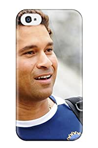 For Iphone Case, High Quality Sachin Tendulkar For Iphone 4/4s Cover Cases by icecream design
