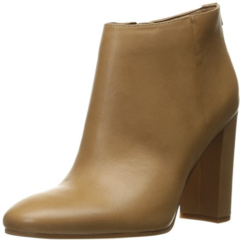 Sam Edelman Women's Cambell Ankle Bootie, Golden Caramel Leather, 7 M US (Caramel Calf Leather)