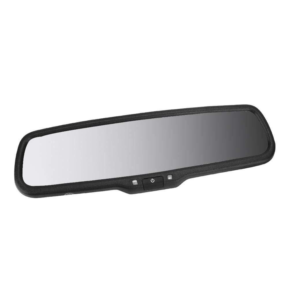 Monitor de Atenuaci/ón Autom/ática de Espejo Retrovisor de 4.3 Pulgadas para Autom/óvil con Soporte Mirror Dash Cam Black Monitor de Espejo Retrovisor