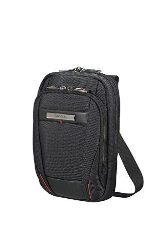 SAMSONITE CROSSOVER S (BLACK) -PRO-DLX 5 Messenger Bag, 22.0 cm, Black