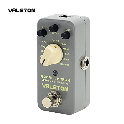 Valeton Guitar Distortion Effects Pedal (CRV-2) (Best Lexicon Reverb For Vocals)