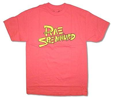 Rae Sremmurd Scribble Logo Coral Pink T Shirt Hip Hop