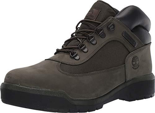 Nubuck Green (Timberland Men's Field Boot F/L Waterproof Dark Green Nubuck 8 D US)