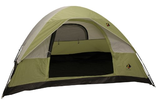 Ledge Sports Ridge 4-Person Tent, Orange, Outdoor Stuffs
