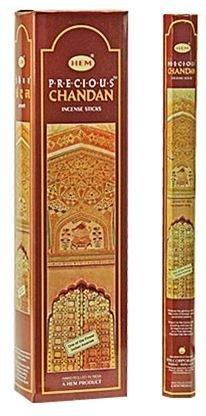 Precious Chandan - Hem Jumbo 16 Inch Incense Sticks 10 Stick Hexagon Box (Set of 6)