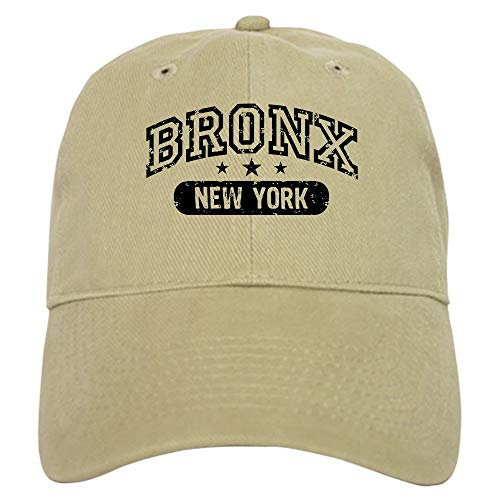 Bronx New York Cap Baseball Cap with Adjustable Closure Unique Printed Baseball Hat