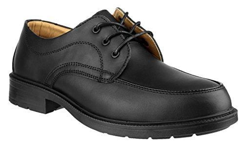 Amblers Steel , Chaussures de ville à lacets pour homme Noir noir - Noir - noir, 39.5