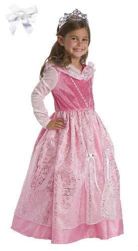 Little Adventures 12161 Deluxe Pink Sleeping Beauty Princess Costume (Ages 1-3) (Disney Princess Pink Dress)