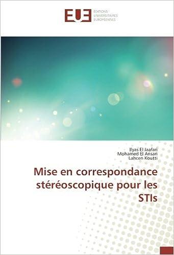 Book Mise en correspondance stéréoscopique pour les STIs (French Edition)