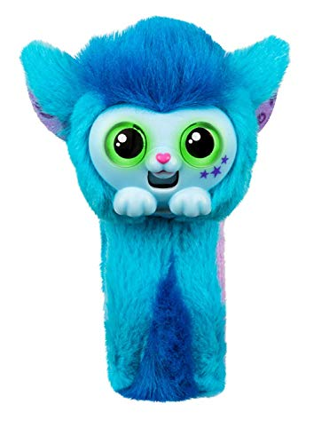 ASHY Small Live Pets Wrapples Toys, Interactive cat Monkey Wearable Cutest Toys Eyes Changing Colors Plush Wrist Toys for Boys and Girls and Birthday Present