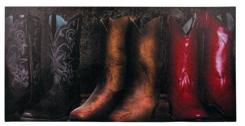 (Ohio Wholesale Cowboy Boots Canvas Wall Art, Large, from our Everyday Collection)