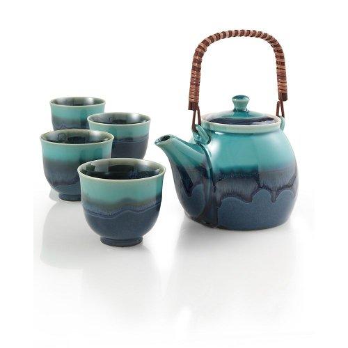 Teavana Azure Blue Teapot Set