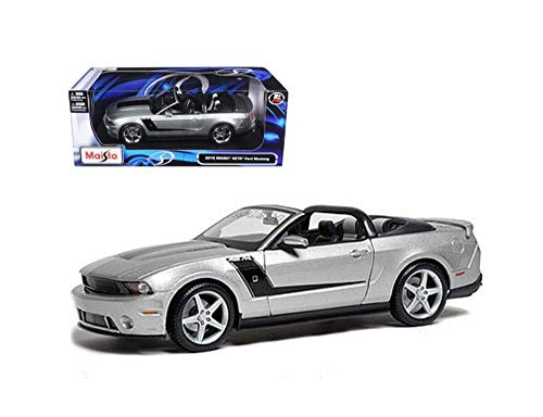 Die cast 2010 Roush Mustang Convertible