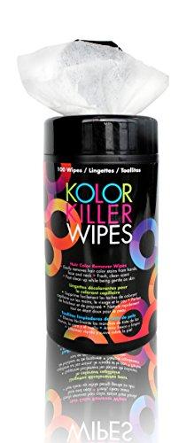Framar Kolor Killer Wipes – Hair Dye, Hair Color Remover – Wipes Dispenser of 100