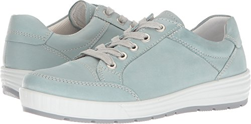 (ara Women's Nicole Sneaker Aqua Leather 9.5 M US)