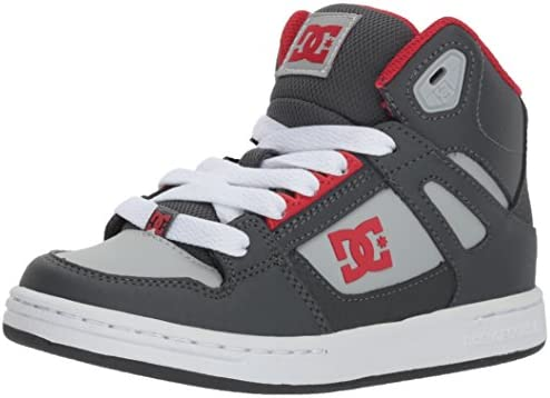 DC Kids Pure High-top Skate Shoe