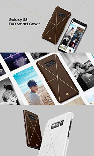 check out 908bb 72f0c Amazon.com: [SM Entertainment] EXO Smart Cover for Samsung Galaxy S8 ...