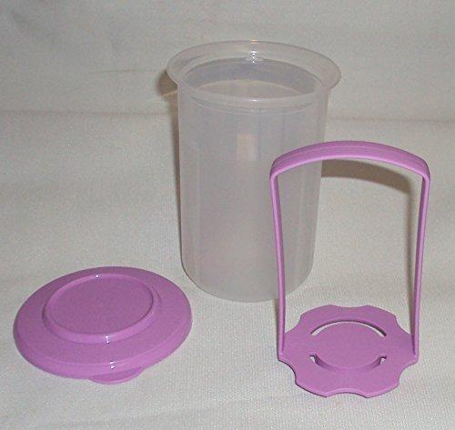 - Tupperware SMALL 2 Cup Pick a Deli Round Pickle Keeper, Lavender Purple