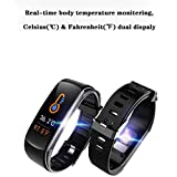 Smart Watch, Fitness Tracker with Body Temperature