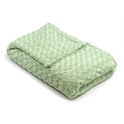 Sage Cosmopolitan Green (36x54 8lb Sage Green Chenille Magic Blanket - The Blanket That Hugs You Back   World's 1st Weighted Blanket  Molds to Body Increasing Serotonin Great for Anxiety & Insomnia  Made in USA)