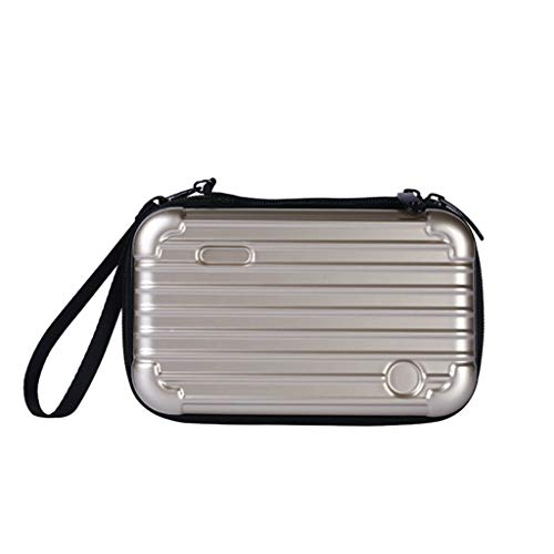 BEERICHH Women Cosmetic bag Fashion Make Up Bag Mini Waterproof Crashproof Travel Pouch Suitcase Cosmetic Handbag
