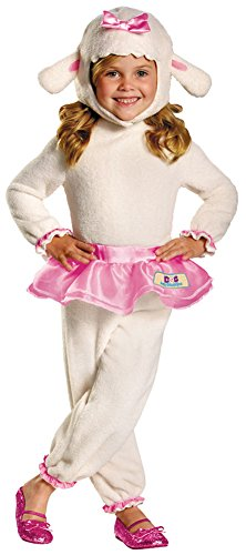 Girls Halloween Costume- Lambie Doc Mcstuffins Kids Costume (Doc Mcstuffins Halloween Costume Size 6)