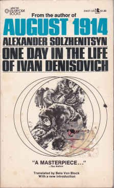 essays on one day in the life of ivan denisovich One day in the life of ivan denisovich is a former  a collection of critical essays (1976) spectrum  --that's one day in the life of an.