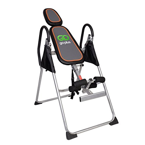 New Foldable Premium Gravity Inversion Table Back Therapy Fitness Reflexology by Inversion Tables