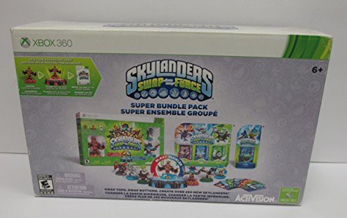 Skylanders Swap Force Super Bundle Pack (XBOX 360) (360 Pack Xbox Bundle)