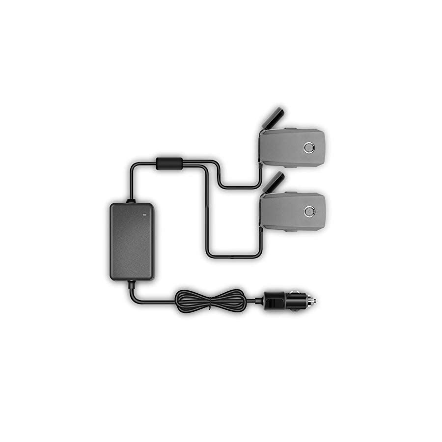 Outdoor Dual Car Charger Intelligent Car Charger for DJI Mavic 2 Battery