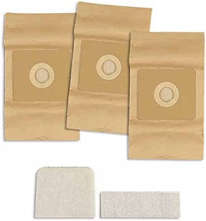 3580 Bissell Vacuum Cleaner Replacement Bag 3 Pack