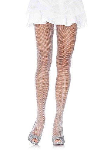 Leg Avenue Womens Glitter Fishnet Tights ()