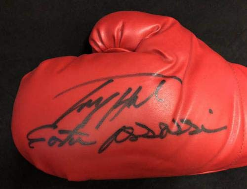 Larry Holmes SIGNED Everlast Boxing Glove + Easton Assissin Autographed PSA/DNA Certified Autographed Boxing Gloves