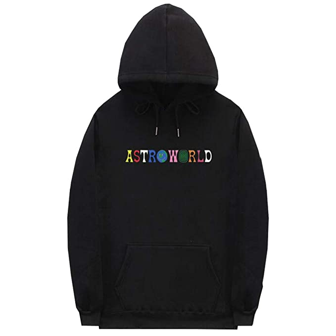 b47b9492fe27 Yeleo Trosetry Unisex Astroworld Print Hoodie Hip Hop Pullover Sweatshirt  Graphic Top: Amazon.co.uk: Clothing