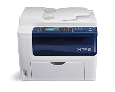 Workcentre 6015/NI Color Multi-function Printer, Print/copy/scan/fax, Up To 12/1
