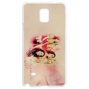 2 Broke Girls SamSung Galaxy Note4 White Phone Case Christmas Gifts&Gift Attractive Phone Case KHUAA523806