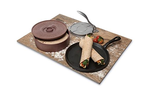 Mexican Origins 3-Piece Tortilla Making Set, Multicolored 150-61