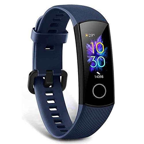 Honor Band 5 Smartwatch armband met hartslagmeter, waterdicht IP68, slaapmonitor fitnesstracker blauw
