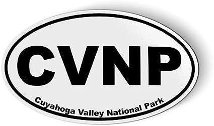 Cuyahoga Valley National Park Oval Sticker Decal Vinyl Euro CVNP