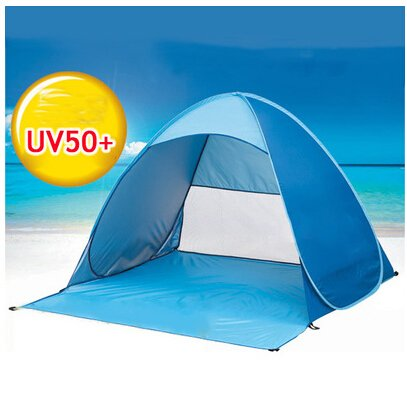 Besplore Lightweight automatically open 2 Person Camping Backpacking Tent With Carry Bag, Multi
