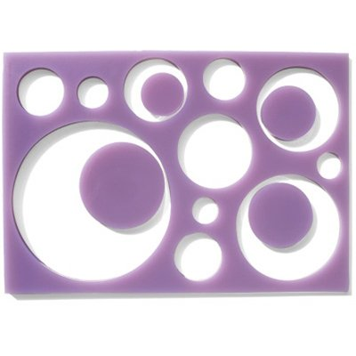 Circle Jumble Mat Silicone Mold (Plus 4 Inclusions)