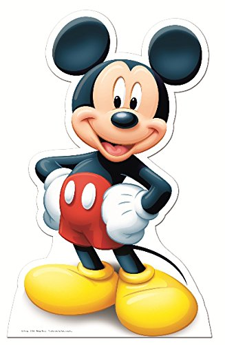 Mickey Mouse Cardboard Cutout (Star Cutouts Cut Out of Mickey)