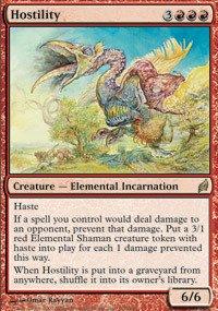 Magic: the Gathering - Hostility - Lorwyn