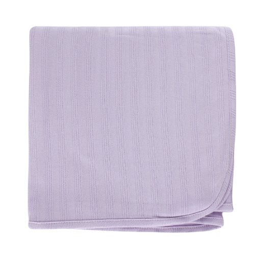 Touched by Nature Organic Cotton Receiving Blanket, Lavender